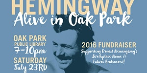 Hemingway Alive in Oak Park