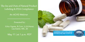 Natural Product Labeling & FDA Compliance: What You...