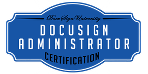 DocuSign for Administrator Virtual Certification...