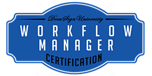 DocuSign Workflow Manager Certification (August 9)