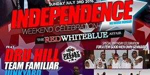 -THE RED WHITE and BLUE AFFAIR-