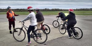 June Adult Learn to Ride: Cornelia Fort