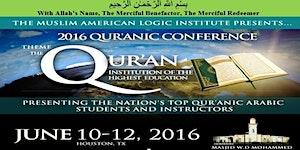 M.A.L.I. 8th Annual Qur'anic Conference 2016