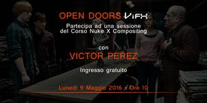 Open-Doors Nuke X con Victor Perez