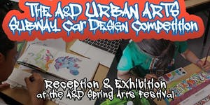 Art & Design's Urban Arts Subway Car Competition...
