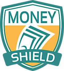 Sandy Gum from Money Shield logo