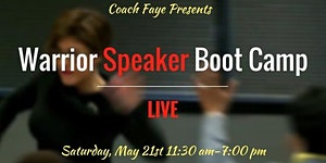 Warrior Speaker Boot Camp