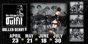 The Chicago Outfit Roller Derby vs. St. Chux Derby Chix