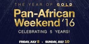 Pan-African Weekend '16 July 8-10, 2016