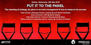 Put it to the Panel: The meaning of strategy, its...