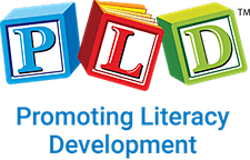 PLD Promoting Literacy Development  logo