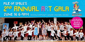 Pile of Smile's 2nd Annual Art Gala: Over the Rainbow!