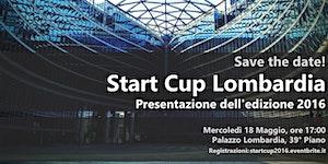 Presentazione Start Cup Lombardia 2016