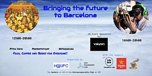 Startup Fair UPC and Virtual Reality Event