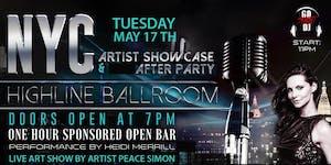 NYC Artist Exhibition & Silent Disco w Open Bar