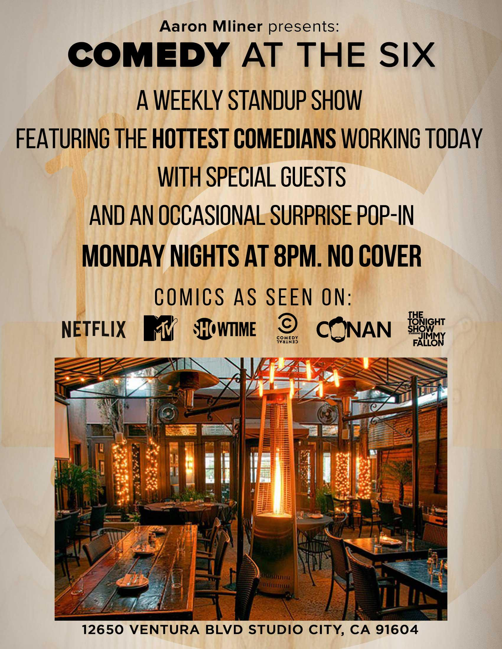 Comedy At The Six Studio City