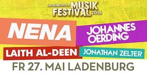 Ladenburger Musikfestival – Nena, Johannes Oerding,...
