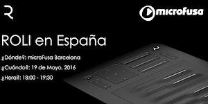 Demo Session de teclados ROLI en MicroFusa Barcelona