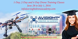 AviSight Drone Academy - 1-day, 2-day and 4-day...