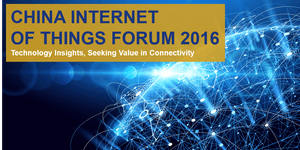 China Internet of Things Forum 2016