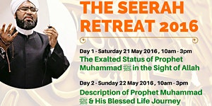 Seerah Retreat with Shaykh Faid Mohammed Said (2-Days...