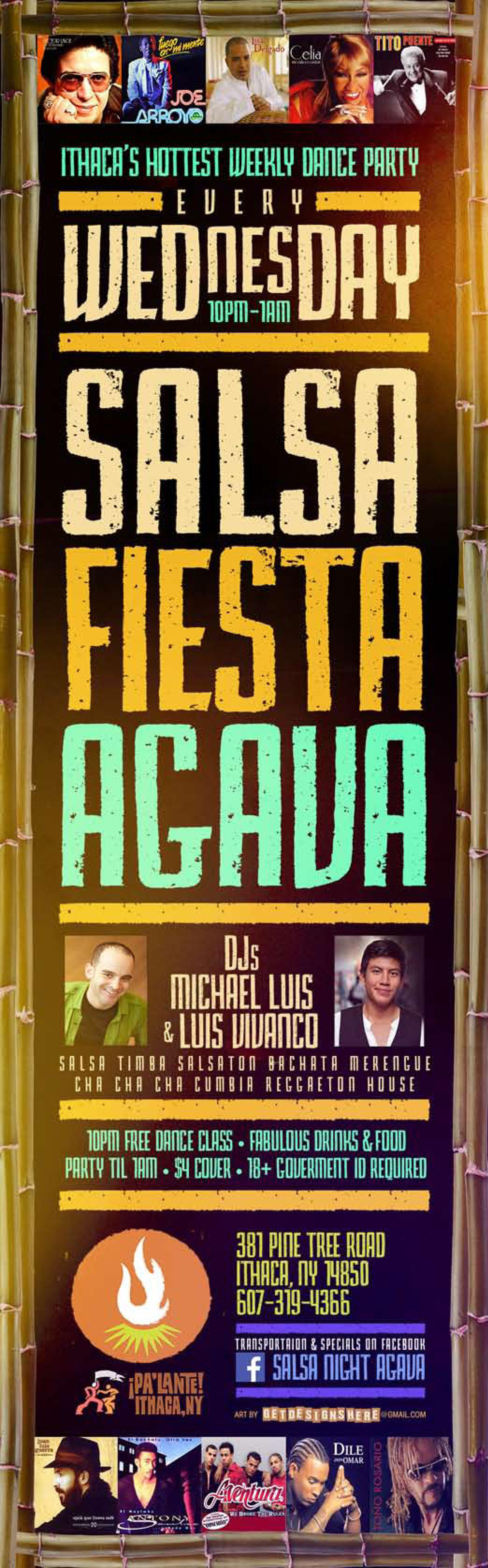 Salsa Night at Agava Restaurant: Party with L