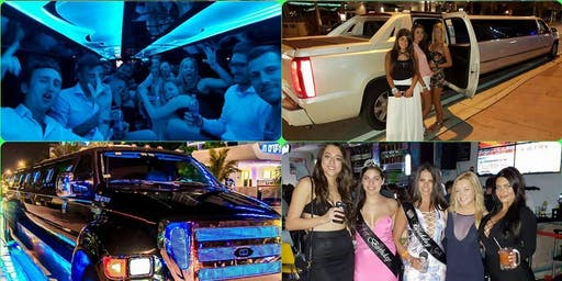 Party Package with drinks, Limo & Club entry, Bachelorette, Bachelor, Birthdays