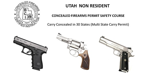 Utah Non Resident Handgun Permit Safety Course (NY & OTHER STATES RESIDENTS)