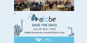 AtoBe Accelerator Round #2 Demo Day
