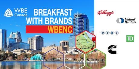 Breakfast with Brands: WBENC tickets