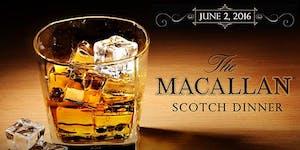 Macallan Scotch Dinner