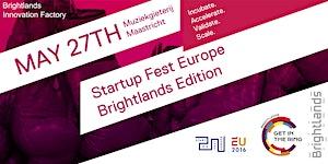 Startup Fest Brightlands - Incubate. Accelerate....