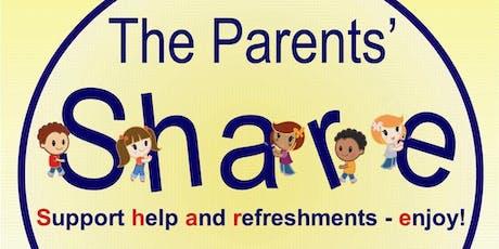 Parents' Share - Stress Releasing Workshop tickets
