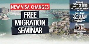 FREE Migration Seminar - Gold Coast