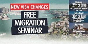 FREE Migration Seminar - Gold Coast