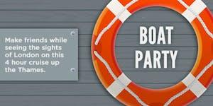Putney Social Summer Boat Party 2016