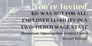 $15 WAS NOT FOR ALL: EMPLOYER LIABILITY IN A...