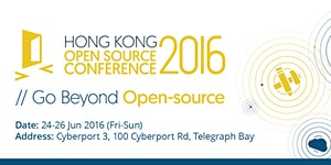 Hong Kong Open Source Conference 2016
