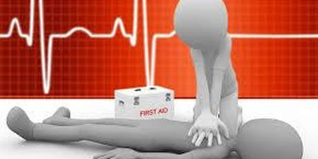 CPR/AED/First-Aid Certification (Adult, Child,& Infant) tickets