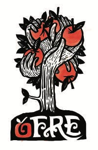 Operation Fruit Rescue Edmonton (OFRE) logo
