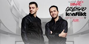 DJs Crespo & Konflikt at AURA