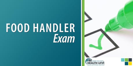 Food Handler Course Exam (Leamington) tickets