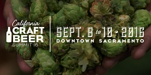 California Craft Beer Summit- September 8-10 2016
