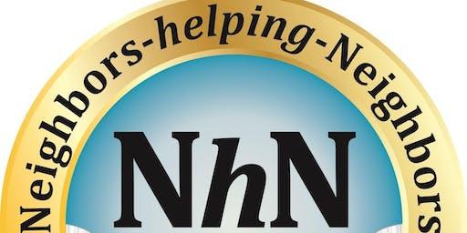 Neighbors-helping-Neighbors USA @Wayne Library  1st & 3rd Wednesdays