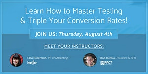 Master Testing & Triple Your Conversion Rates