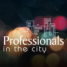 Professionals in the City logo