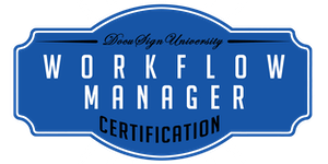DocuSign Workflow Manager Certification (November 15)