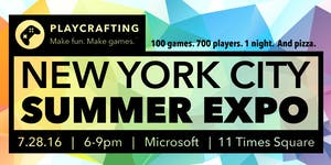 Playcrafting NYC Summer Expo!