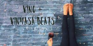 Vino + Vinyasa Beats
