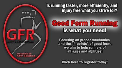 Saturday Good Form Running Class tickets